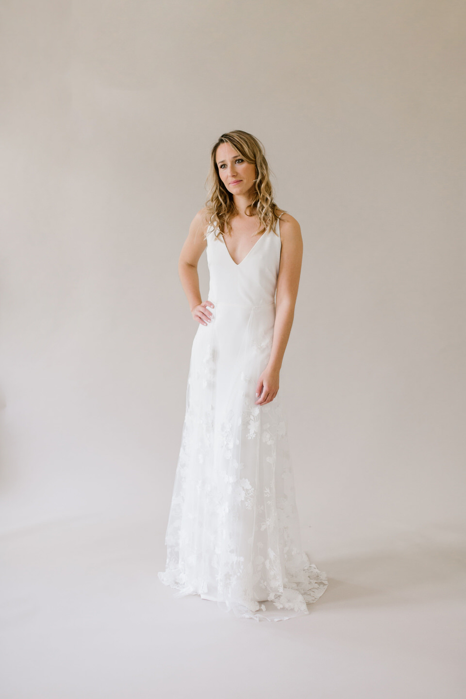 Marie-Catherine Le Hodey wedding dress @ Melody Nelson
