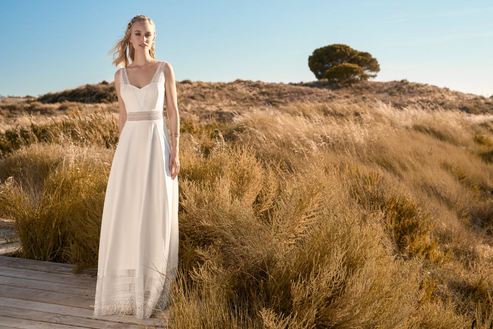 Rembo Styling wedding dress @ Melody Nelson